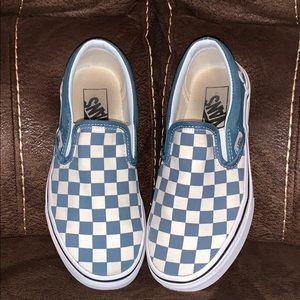 Vans checkered slip ins